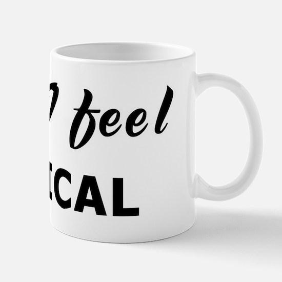 Today I feel critical Mug
