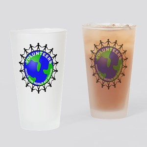 volunteers world final Drinking Glass