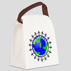 volunteers world final Canvas Lunch Bag