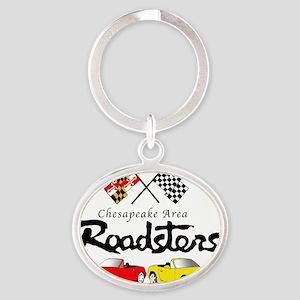 Roadster Logo Full Oval Keychain