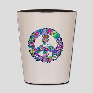 peace 01 Shot Glass
