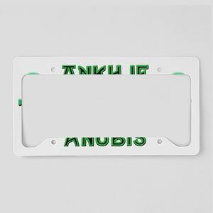 AnubisAnkh License Plate Holder