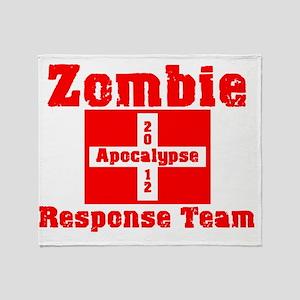 ZombierespDK Throw Blanket