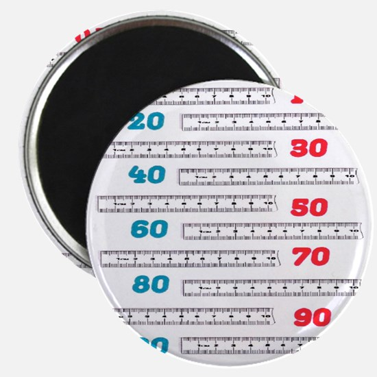 Count by 10 Centimeters Magnet