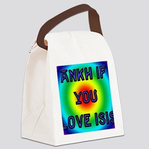 isisBLK Canvas Lunch Bag