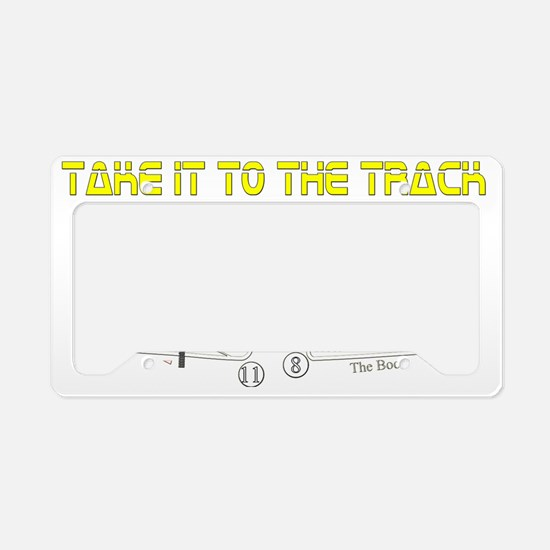 to-the-track License Plate Holder