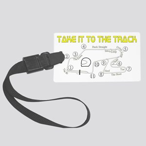 to-the-track Large Luggage Tag