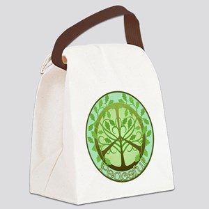 2-PeacefulTree2TR Canvas Lunch Bag