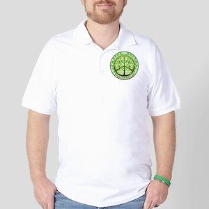 2-PeacefulTree2TR Golf Shirt