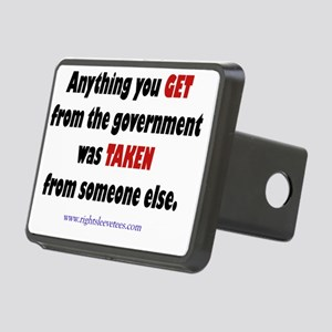 AnythingYouGet3 Rectangular Hitch Cover