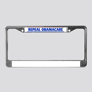 repeal_10x3_sticker License Plate Frame