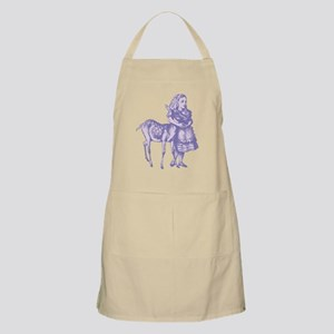 Alice with Fawn Lavender Apron