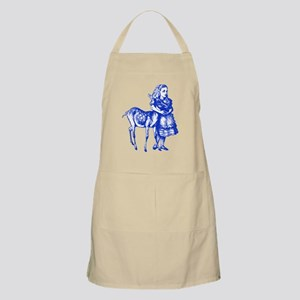 Alice with Fawn Blue Apron