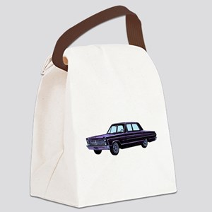 1965 Plymouth Fury I Canvas Lunch Bag