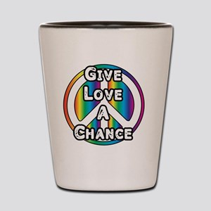 LovePeace Shot Glass