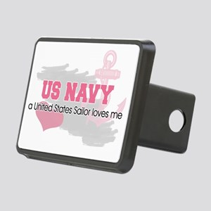 US Sailor loves me Rectangular Hitch Cover