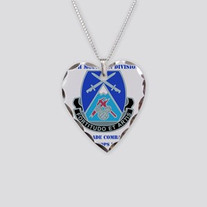 DUI-10 MTN DIV 3BCT SPECIAL T Necklace Heart Charm