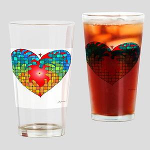Hope Heart Drinking Glass