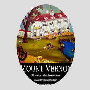 mountvernonpostcards Oval Ornament