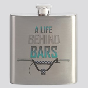 Life Behind Bars Flask