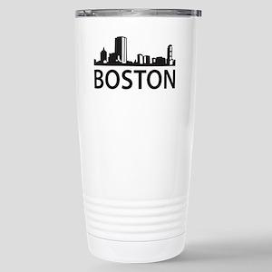 Boston Skyline Stainless Steel Travel Mug