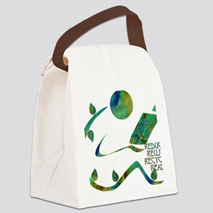 GreenReader4R Canvas Lunch Bag
