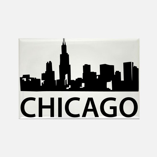 chicago1 Rectangle Magnet
