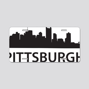pittsburgh1 Aluminum License Plate