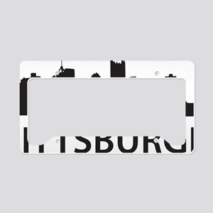 pittsburgh1 License Plate Holder