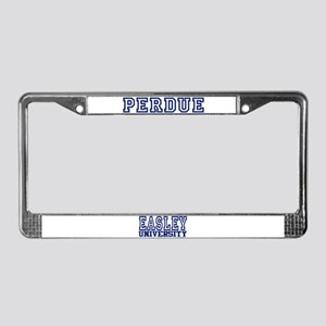 PERDUE University License Plate Frame