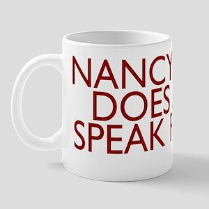 NANCY_sm Mug