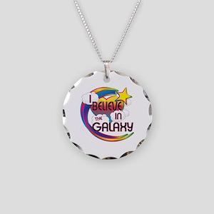 I Believe In The Galaxy Cute Believer Design Neckl
