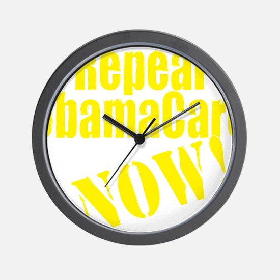 Repeal ObamaCare Now! Wall Clock