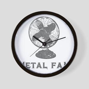 metal_fan copy Wall Clock