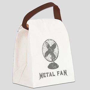 metal_fan copy Canvas Lunch Bag