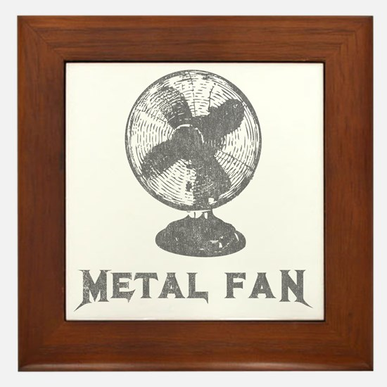 metal_fan copy Framed Tile