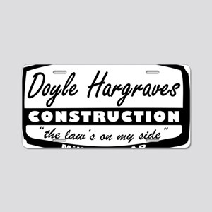 doyle-hargraves2 Aluminum License Plate