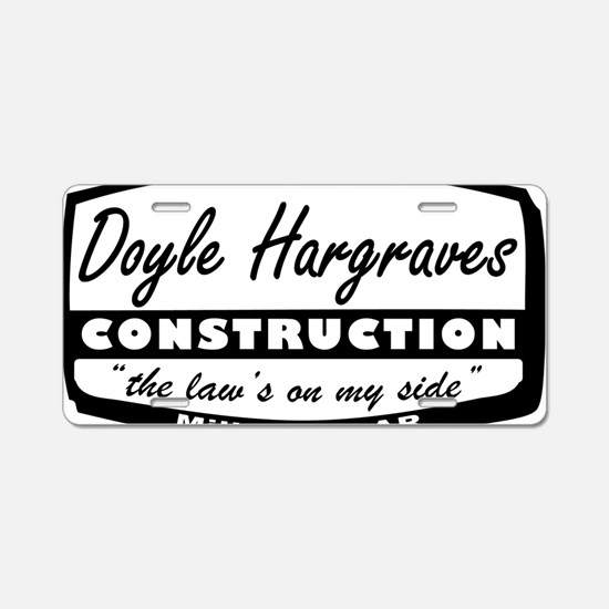 doyle-hargraves2.gif Aluminum License Plate
