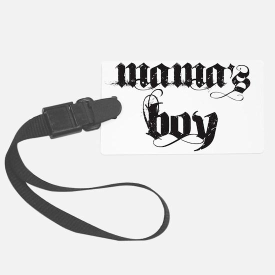 mamas boy Luggage Tag