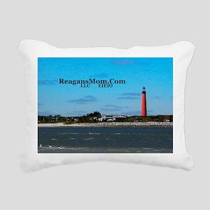 ReagansMom 3 and a half  Rectangular Canvas Pillow