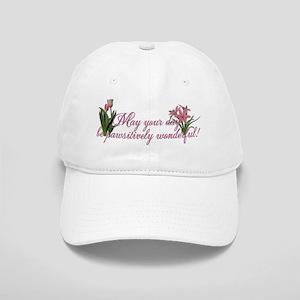 PinkTulipsInside2 Cap