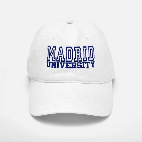 MADRID University Baseball Baseball Cap