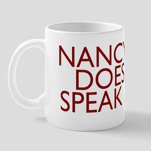NANCY_black4 Mug