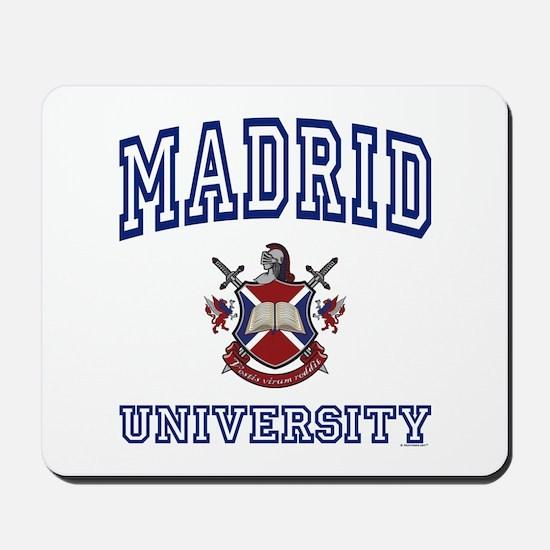 MADRID University Mousepad