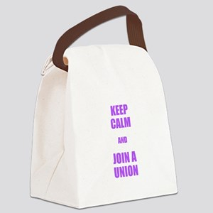 Join a union Canvas Lunch Bag