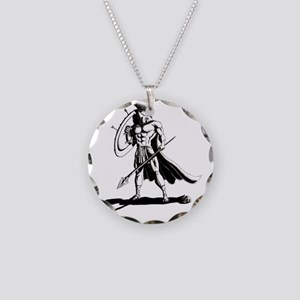 Shield_and_Spear_by_KandyMan Necklace Circle Charm