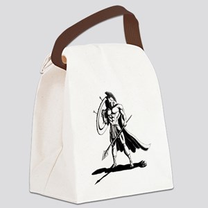 Shield_and_Spear_by_KandyMann Canvas Lunch Bag
