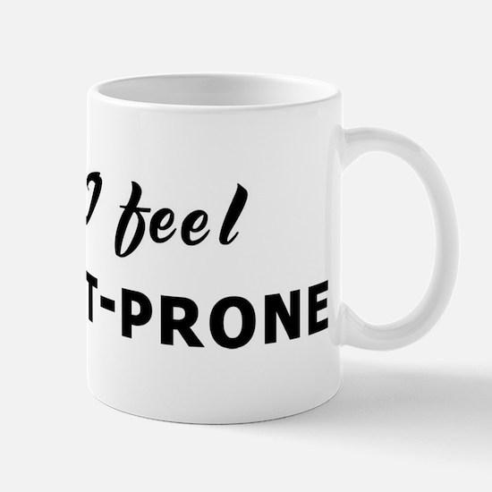 Today I feel accident-prone Mug