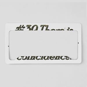 rule39 License Plate Holder