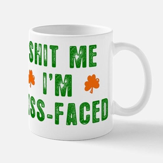 kiss me mens novelty  Mug
